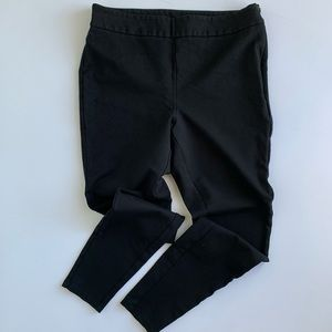 a new day | Black Stretch Ankle Pants Size Medium